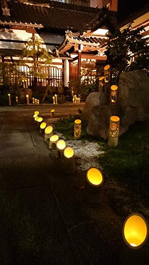 竹灯籠の夕べ
